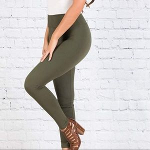 NWOT Super comfy olive leggings ❤️